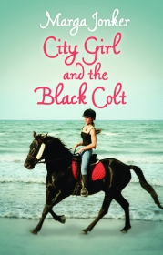 CITY GIRL AND THE BLACK COLT