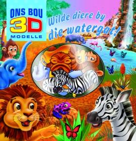 Kom ons bou 3D modelle: Wilde diere by die watergat